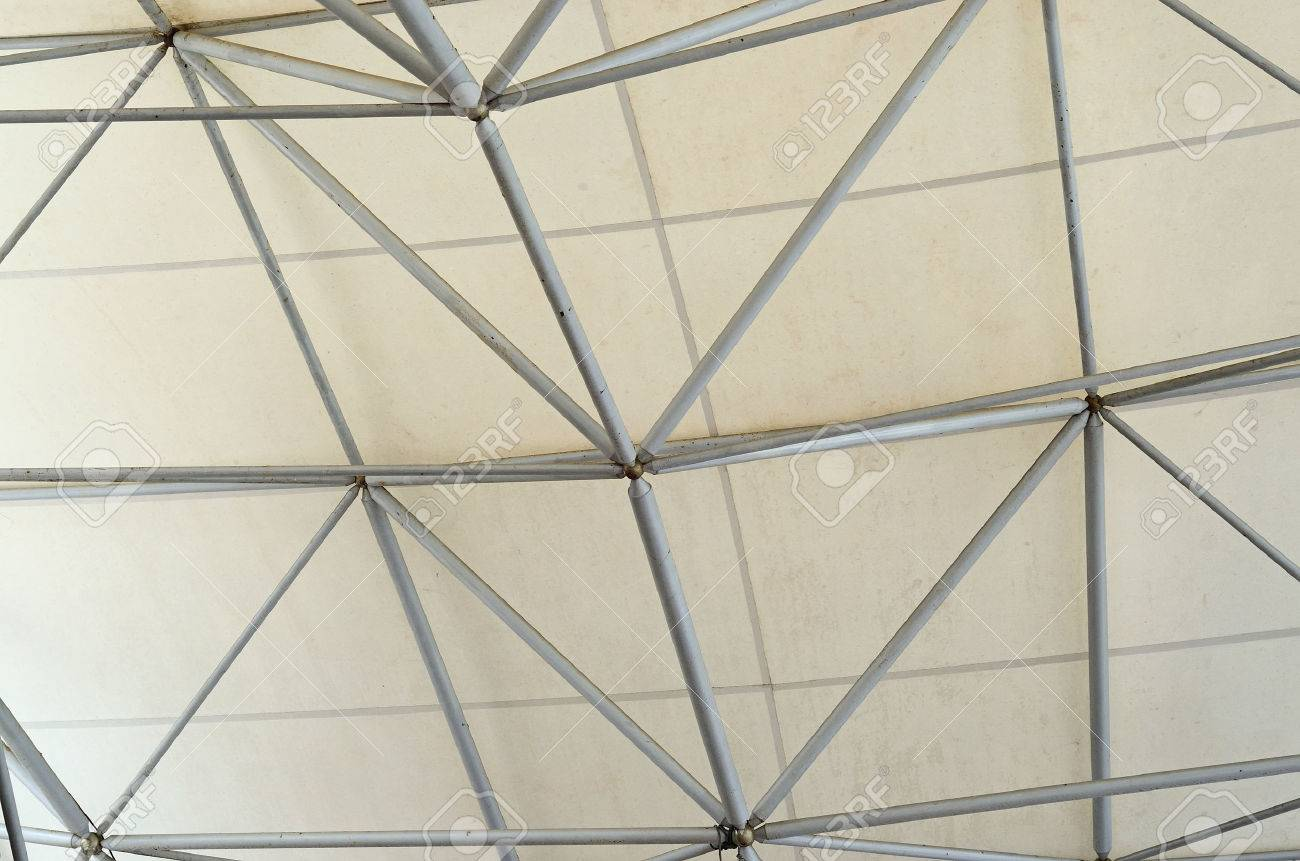 Tensile Membrane Roof Design Use Space Frame Install In Chiangmai ...