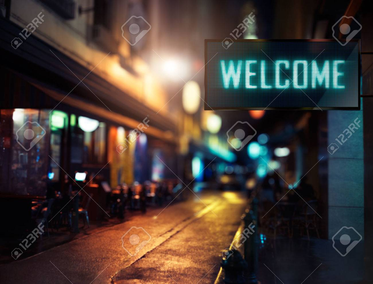 LED Display - Welcome signage - 53022914