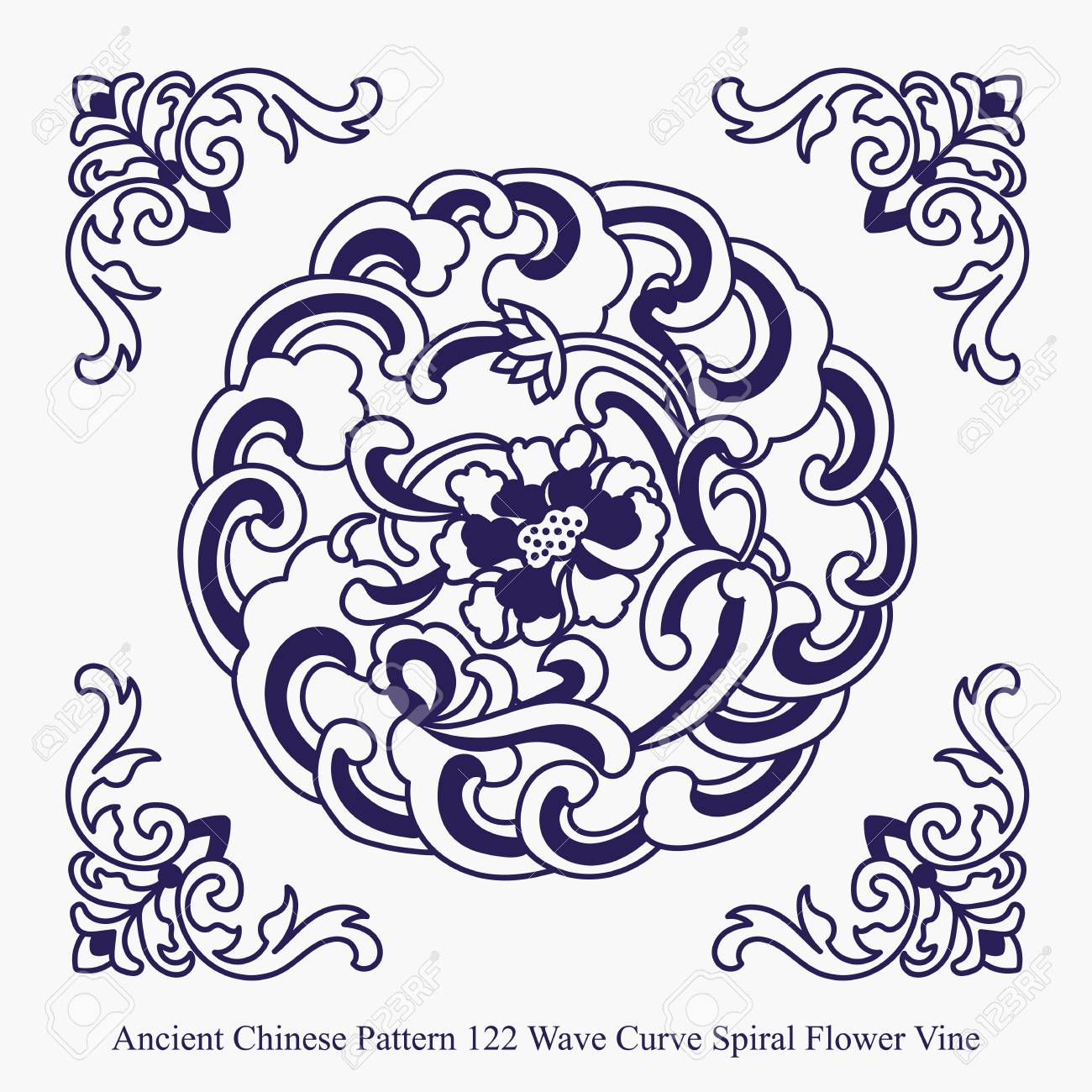 Vine Pattern New Decorating Design