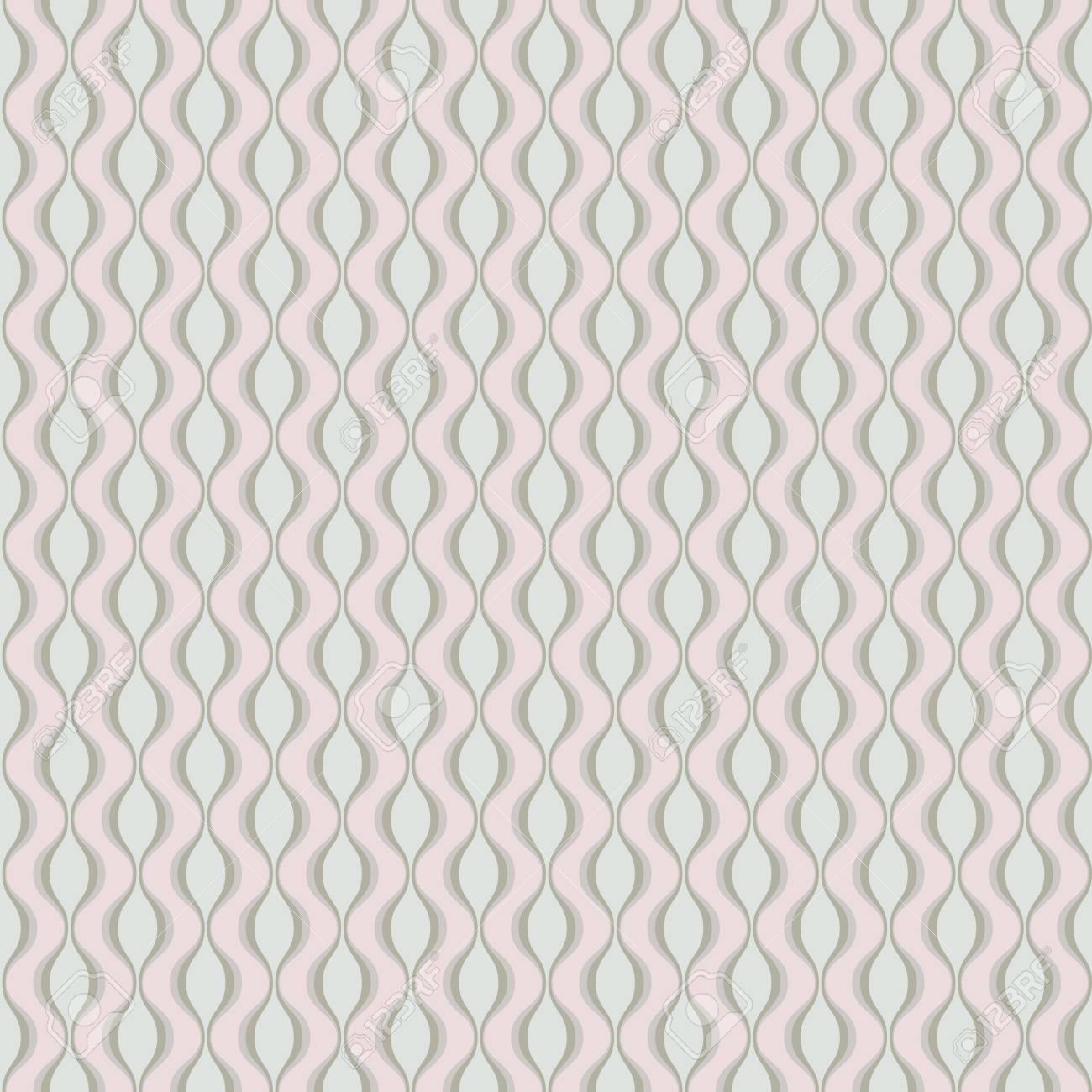 An Elegant Seamless Victorian Wallpaper Background Spiral Curve