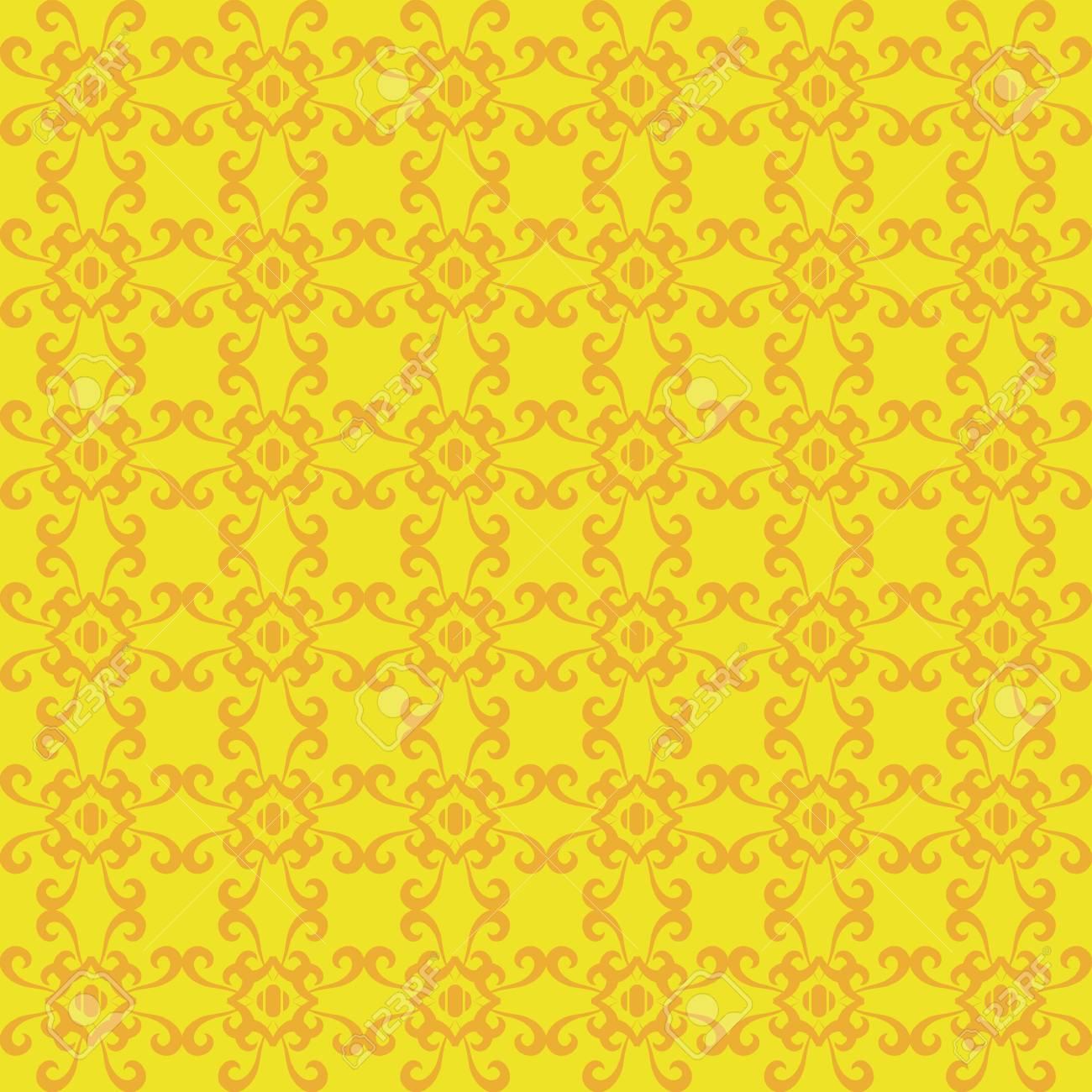 レトロなシームレスな壁紙の背景のイラスト素材 ベクタ Image 80400349