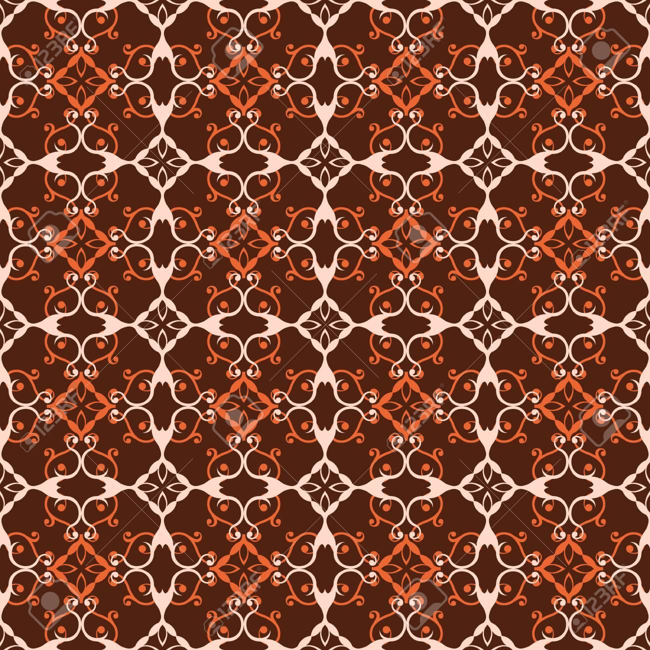 レトロなシームレスな壁紙の背景のイラスト素材 ベクタ Image 80400352