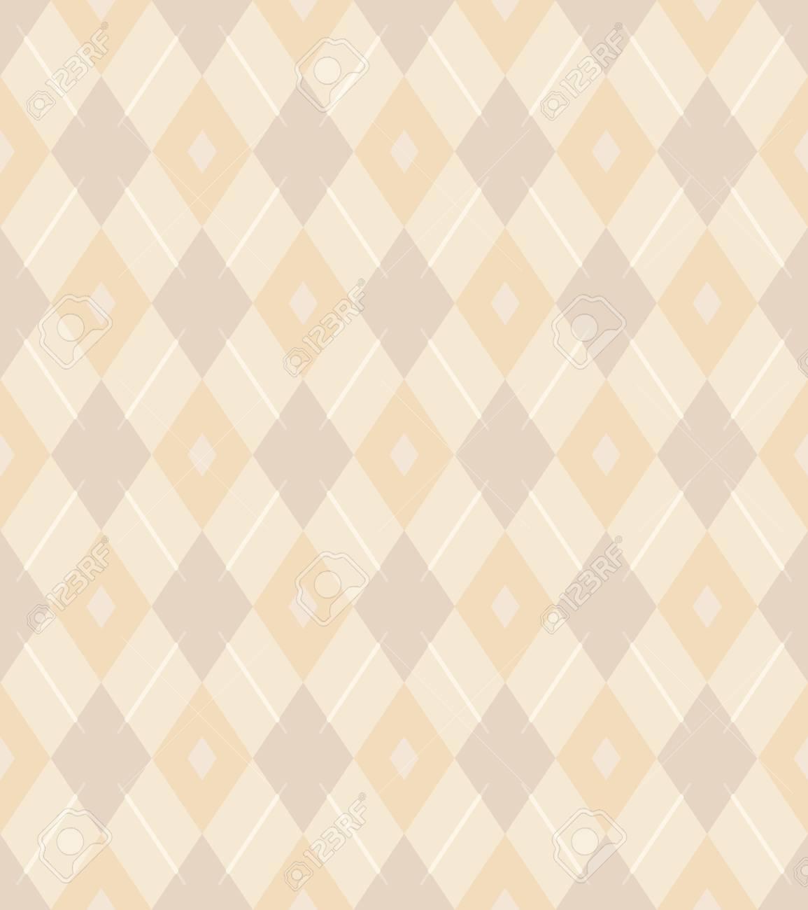 Elegant Seamless Victorian Wallpaper Background Rhomb Check Cross