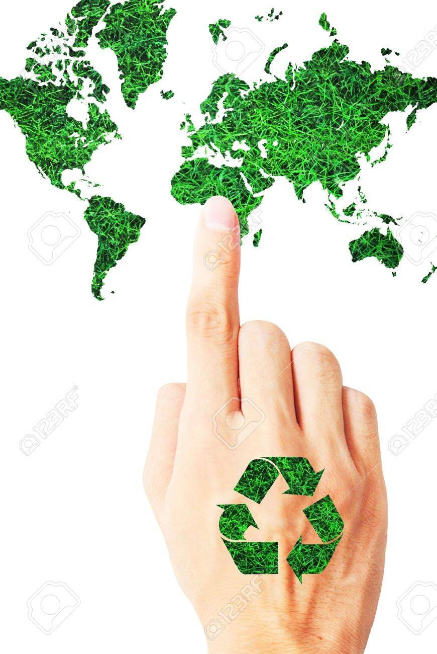 The ecology of recycle,reuse and reduce Stock Photo - 9849849