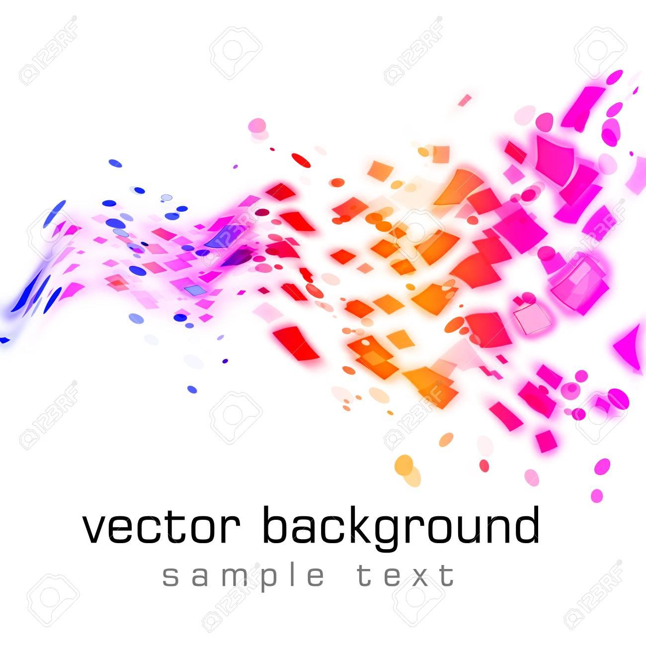 Abstract background bokeh graphic digital illustration Stock Illustration - 11406755