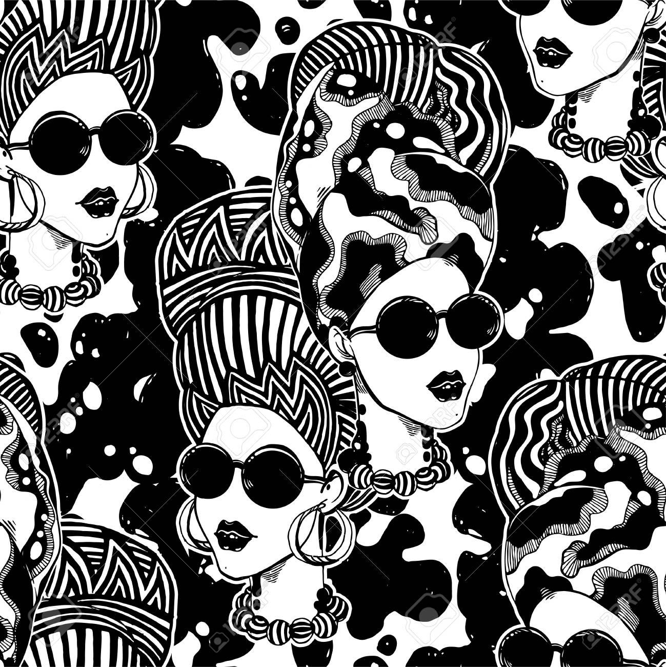 Headwrap Stock Illustrations – 166 Headwrap Stock Illustrations, Vectors &  Clipart - Dreamstime