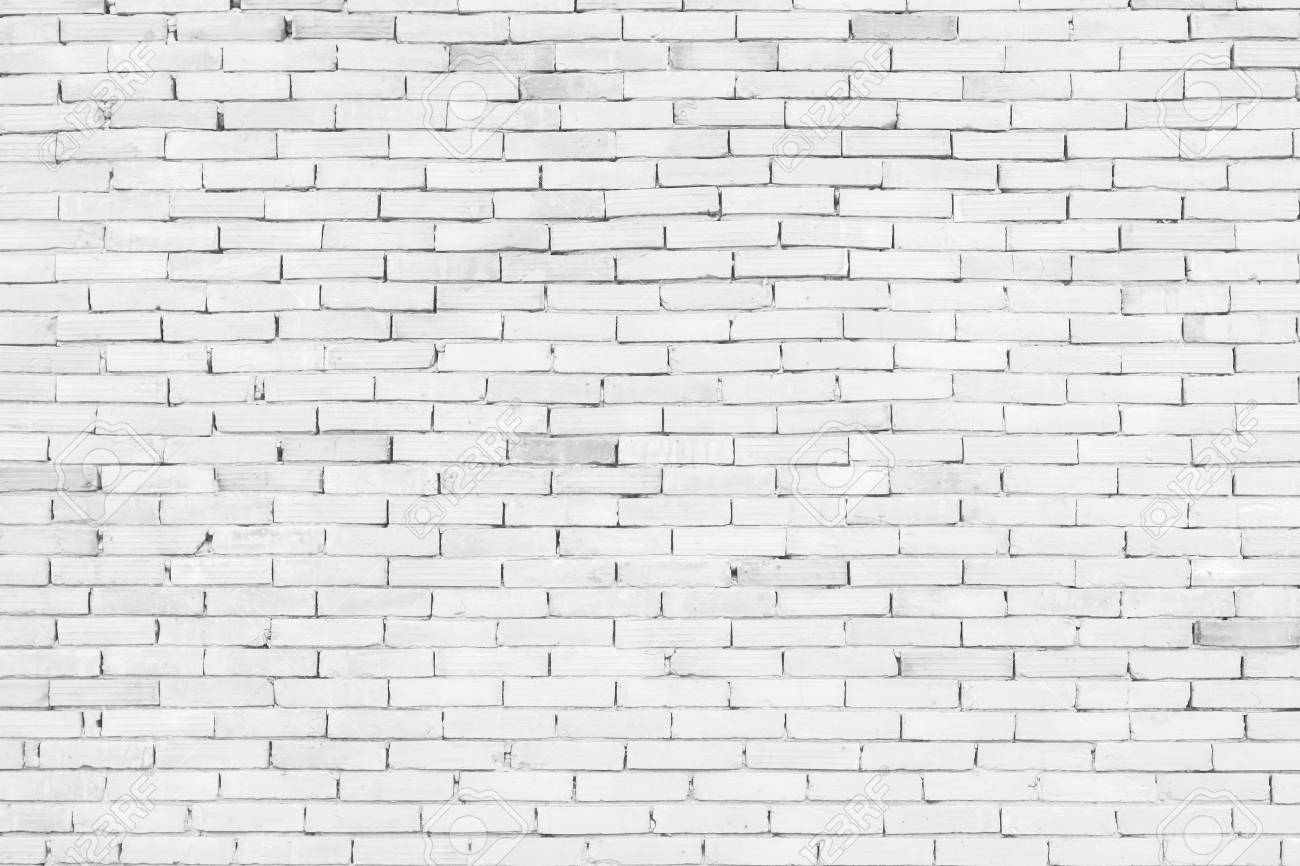 White Brick Wall Texture Wallpaper