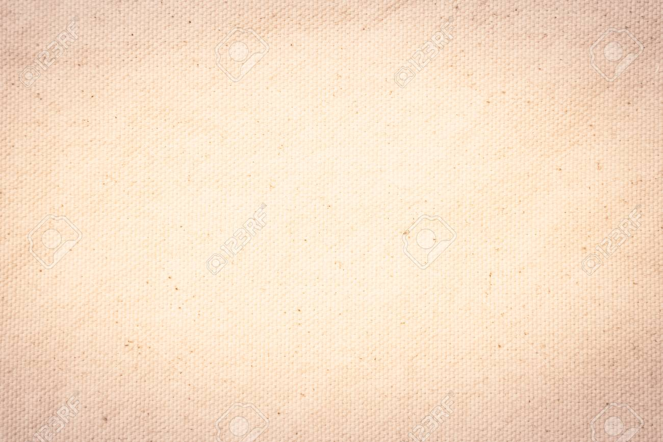 Cream Pastel Texture Background. Haircloth Or Blanket Wale Linen ...