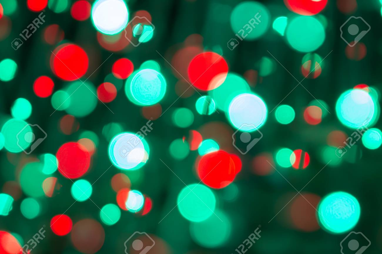 Turquoise Christmas Lights.Christmas Lights Bokeh On Transparent Background Xmas Glowing