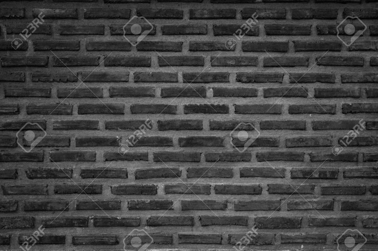 Wall Stained Old Grungy Stucco Texture Background Dark Brickwork Flooring Interior Rock Old Pattern Clean Concrete Have Grid Uneven Design Stack
