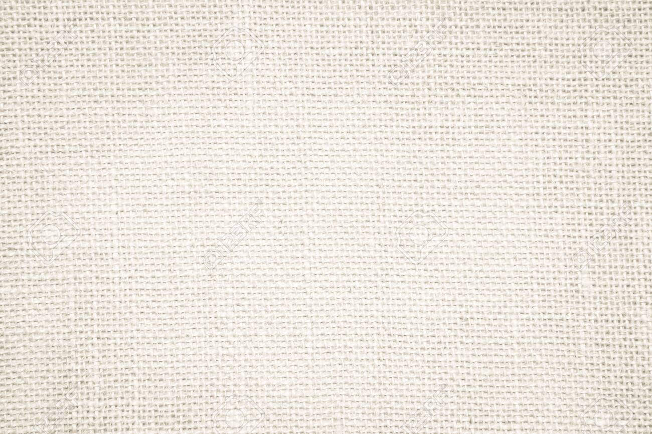 Cream abstract sackcloth towel mock up template fabric on with background. Wallpaper of artistic wale canvas. Blanket or Curtain of pattern and copy space for text decoration. Interior design wall. - 128889670
