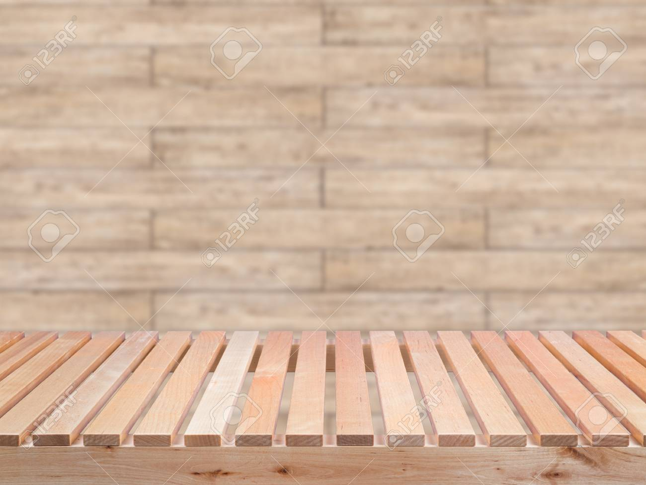 Admirable Wooden Bench On Wooden Wall Background Onthecornerstone Fun Painted Chair Ideas Images Onthecornerstoneorg
