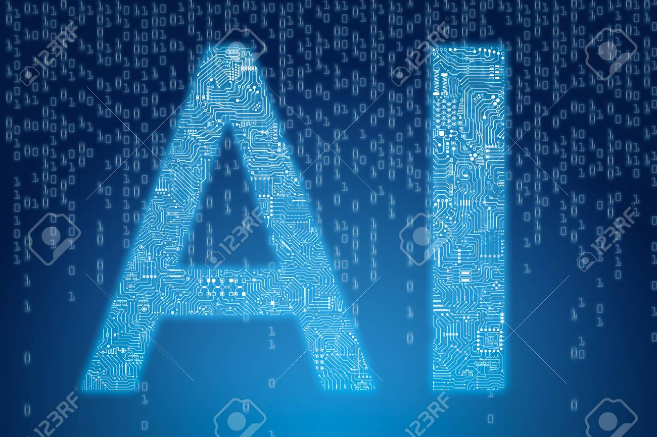 3d Rendering Ai Text With Circuit Pattern On Digital Blue Background Board Vector Free Graphics Download Stock Photo 95443018