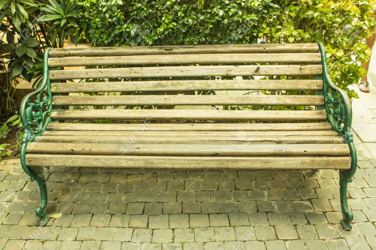 Park Bench Background . Stock Photo, Picture And Royalty Free ... for Park Background With Bench  103wja