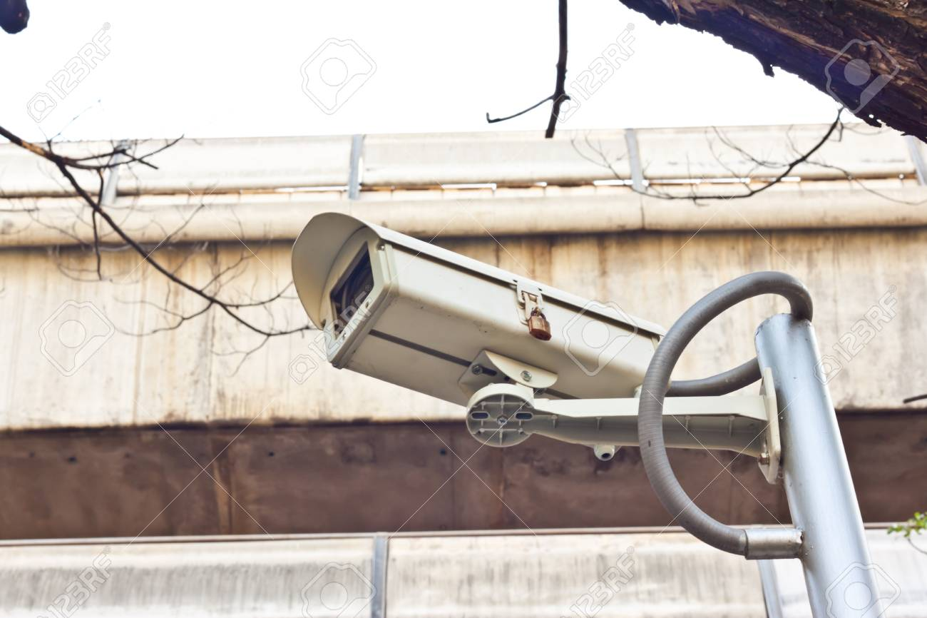 cctv on day time Stock Photo - 17221105