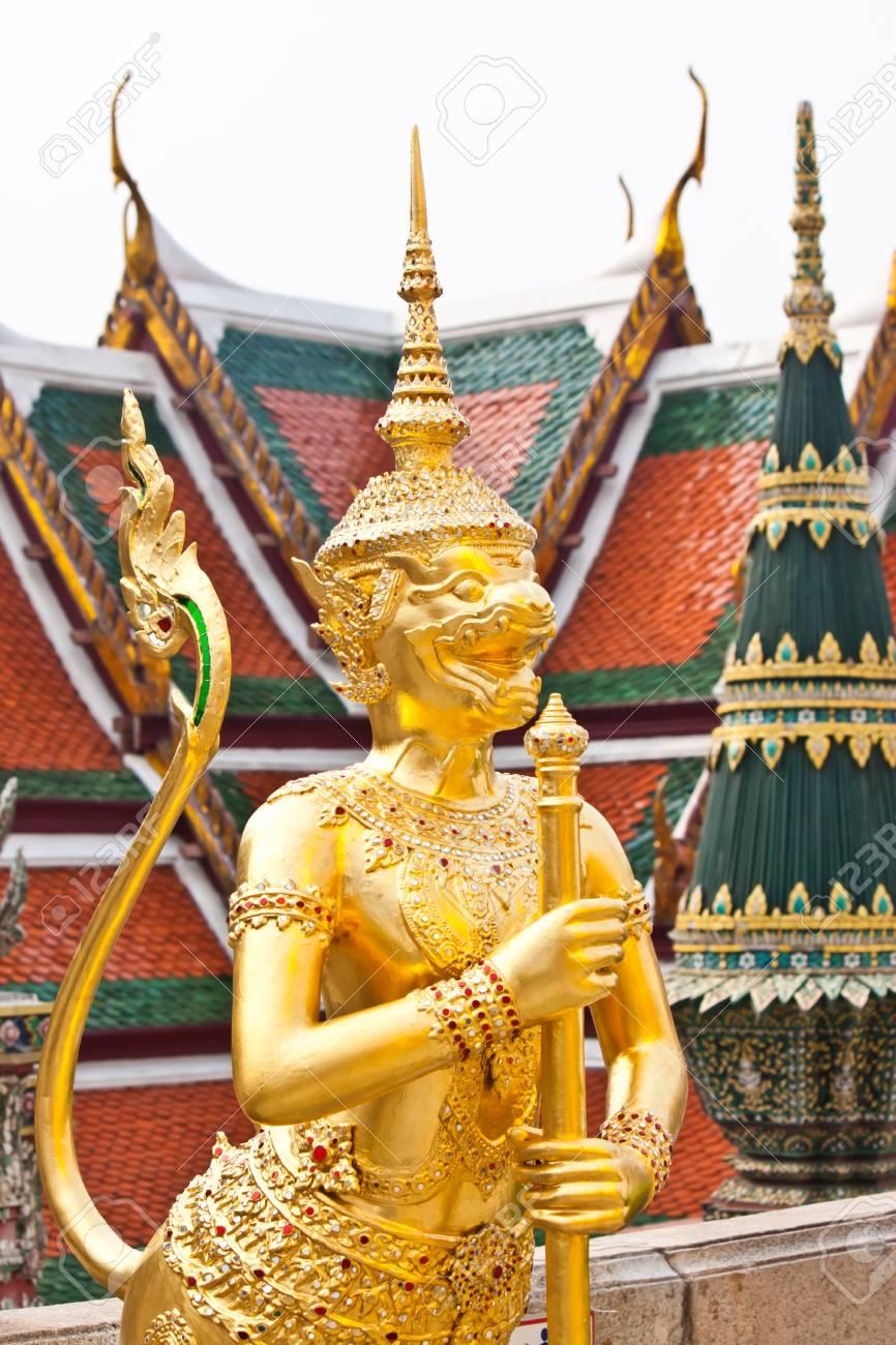 beautiful art in thailand Stock Photo - 18408672