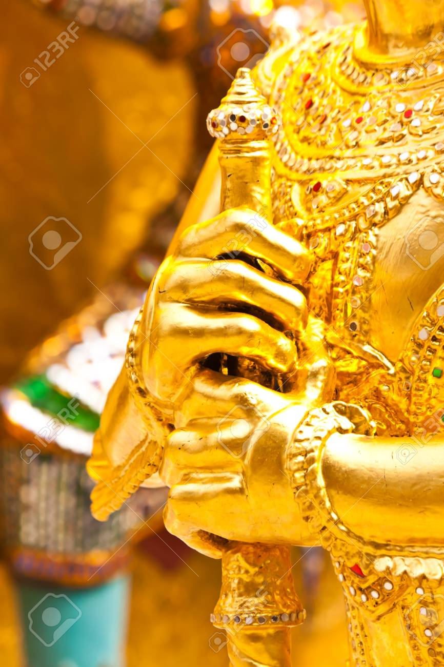 beautiful art in thailand Stock Photo - 18408433