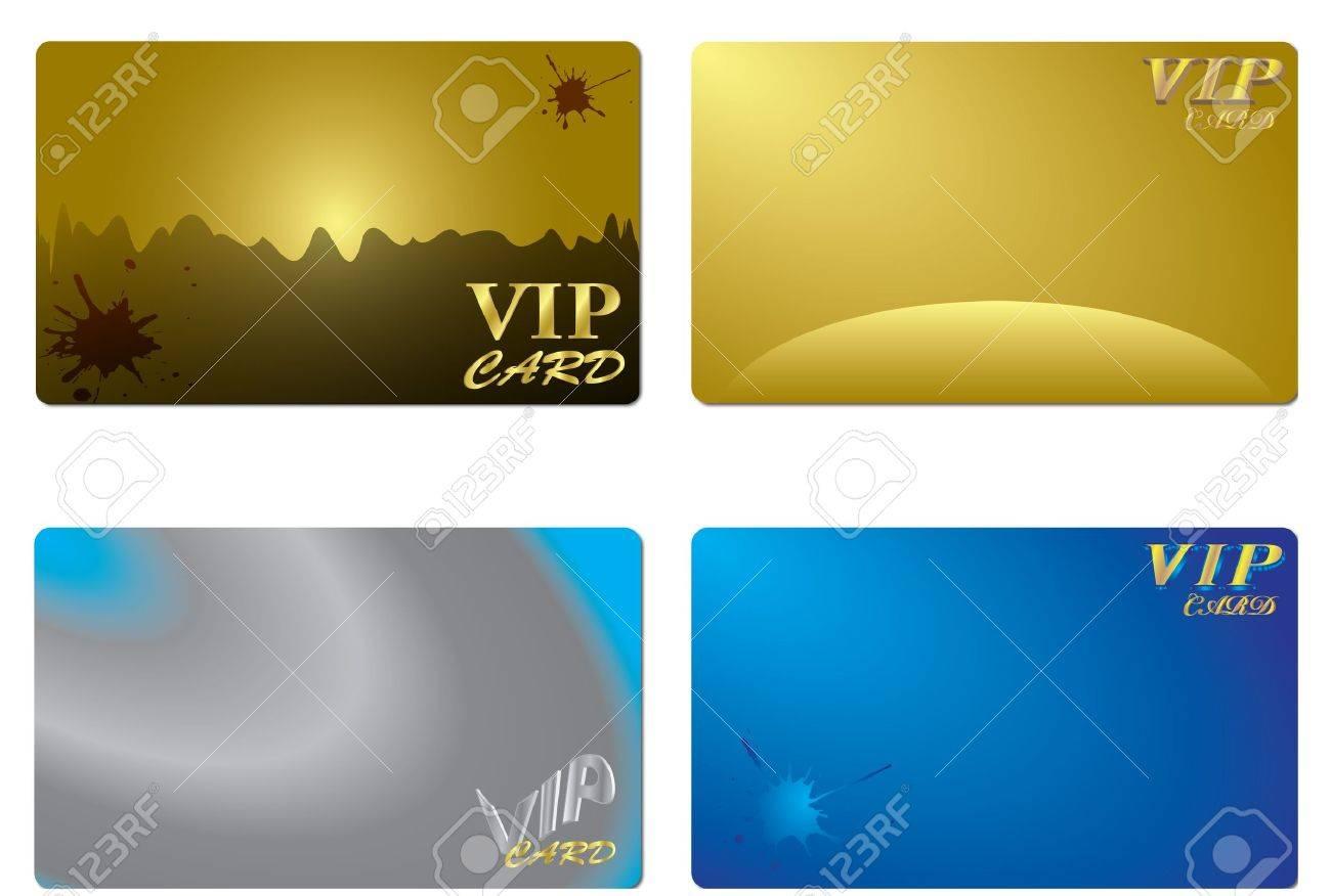 VIP card design - 21636569