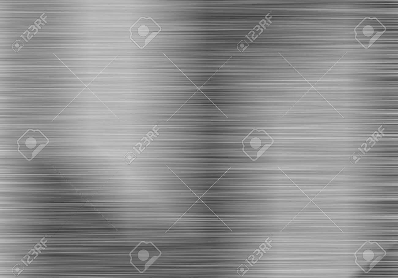 brushed steel or aluminium metal background texture - 151040441
