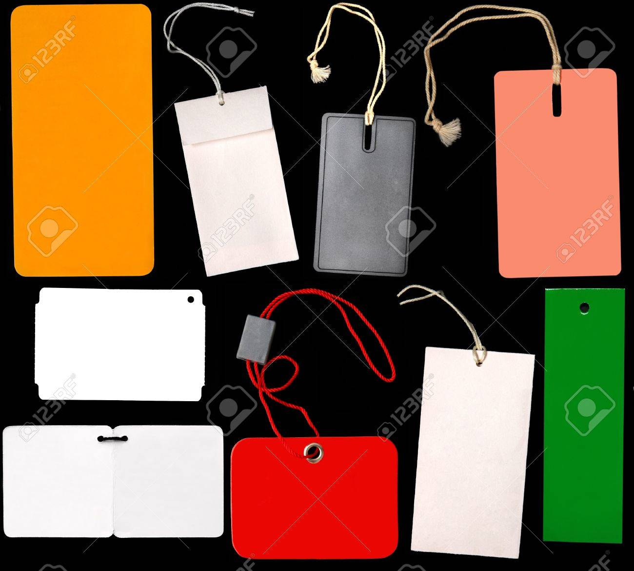 Various labels Stock Photo - 10556222