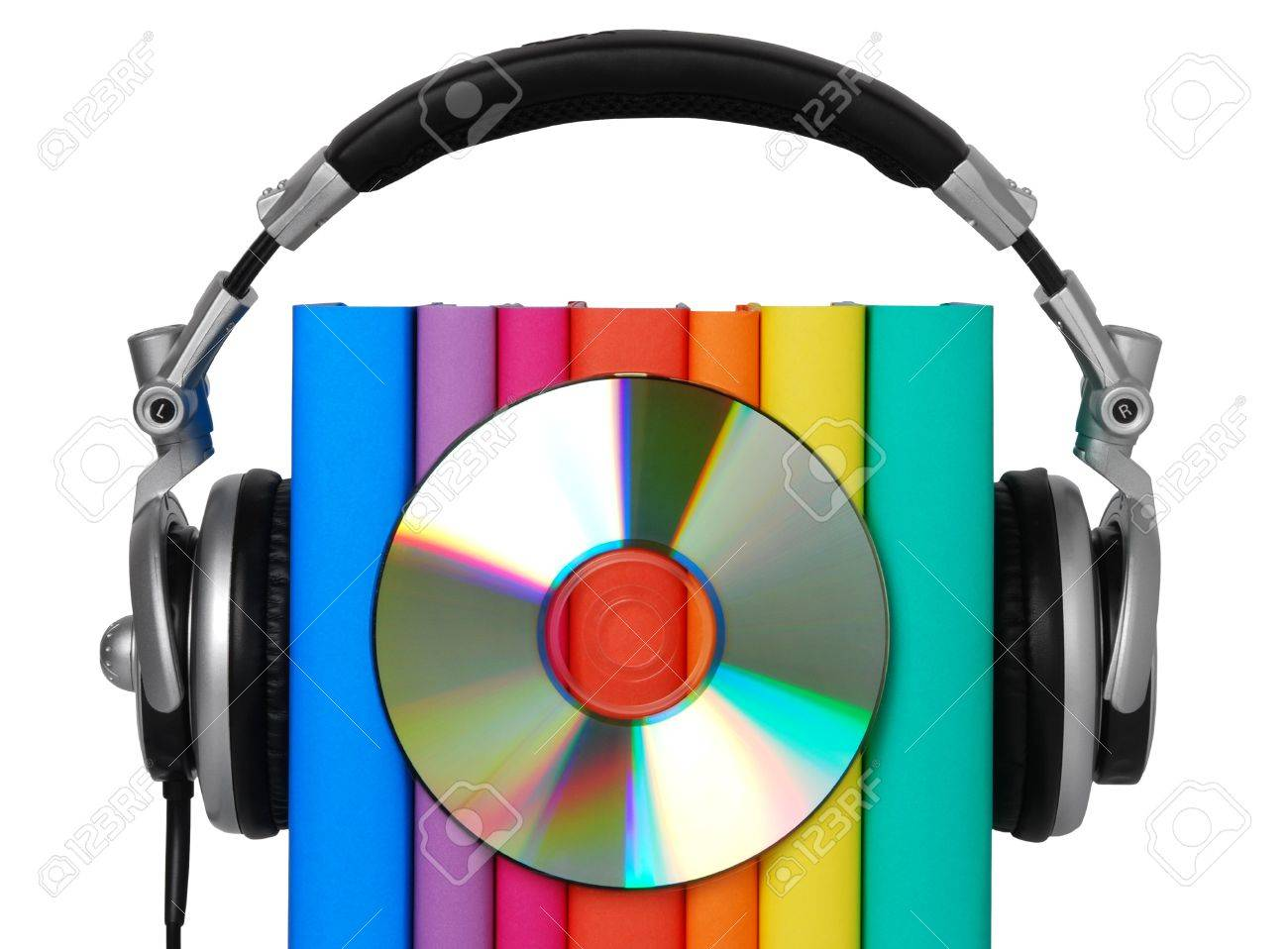 Audio book concept Stock Photo - 10571705