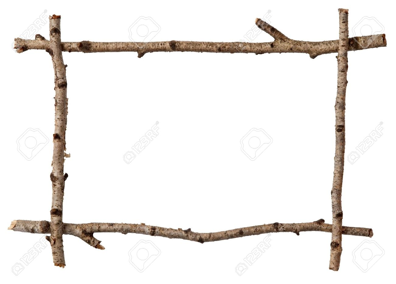 Twig frame stock photo picture and royalty free image image twig frame stock photo 10864933 jeuxipadfo Choice Image