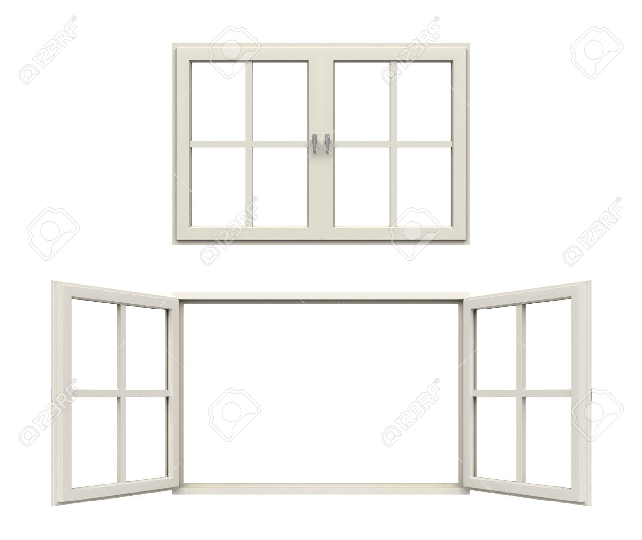 white window picture frame gallery