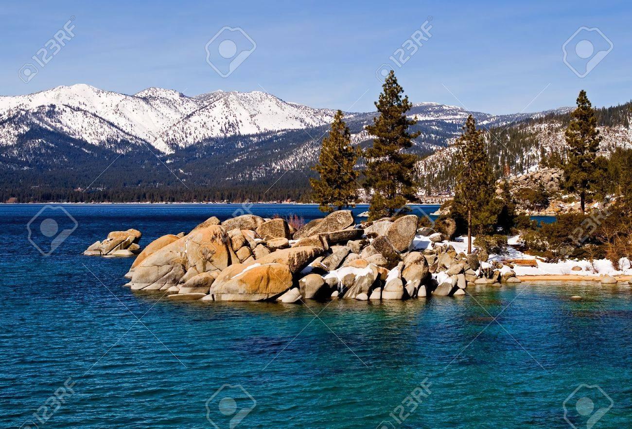 Lake Tahoe in Winter Stock Photo - 6147143