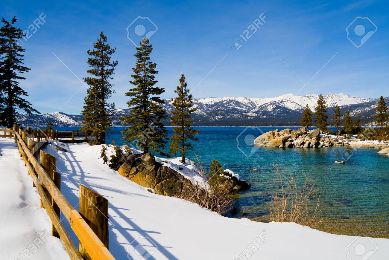 Lake Tahoe in Winter Stock Photo - 6147063