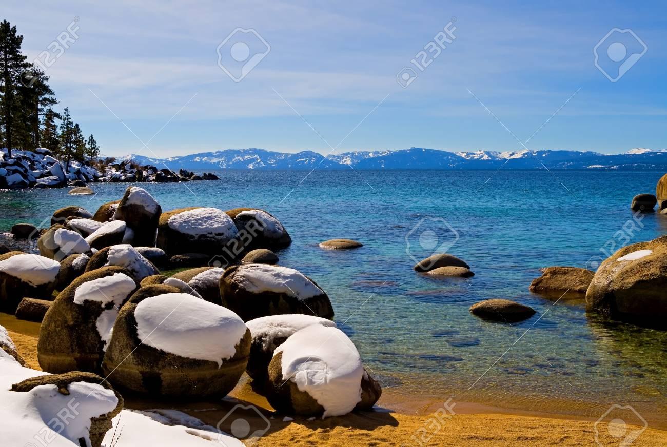 Lake Tahoe in Winter Stock Photo - 6147071