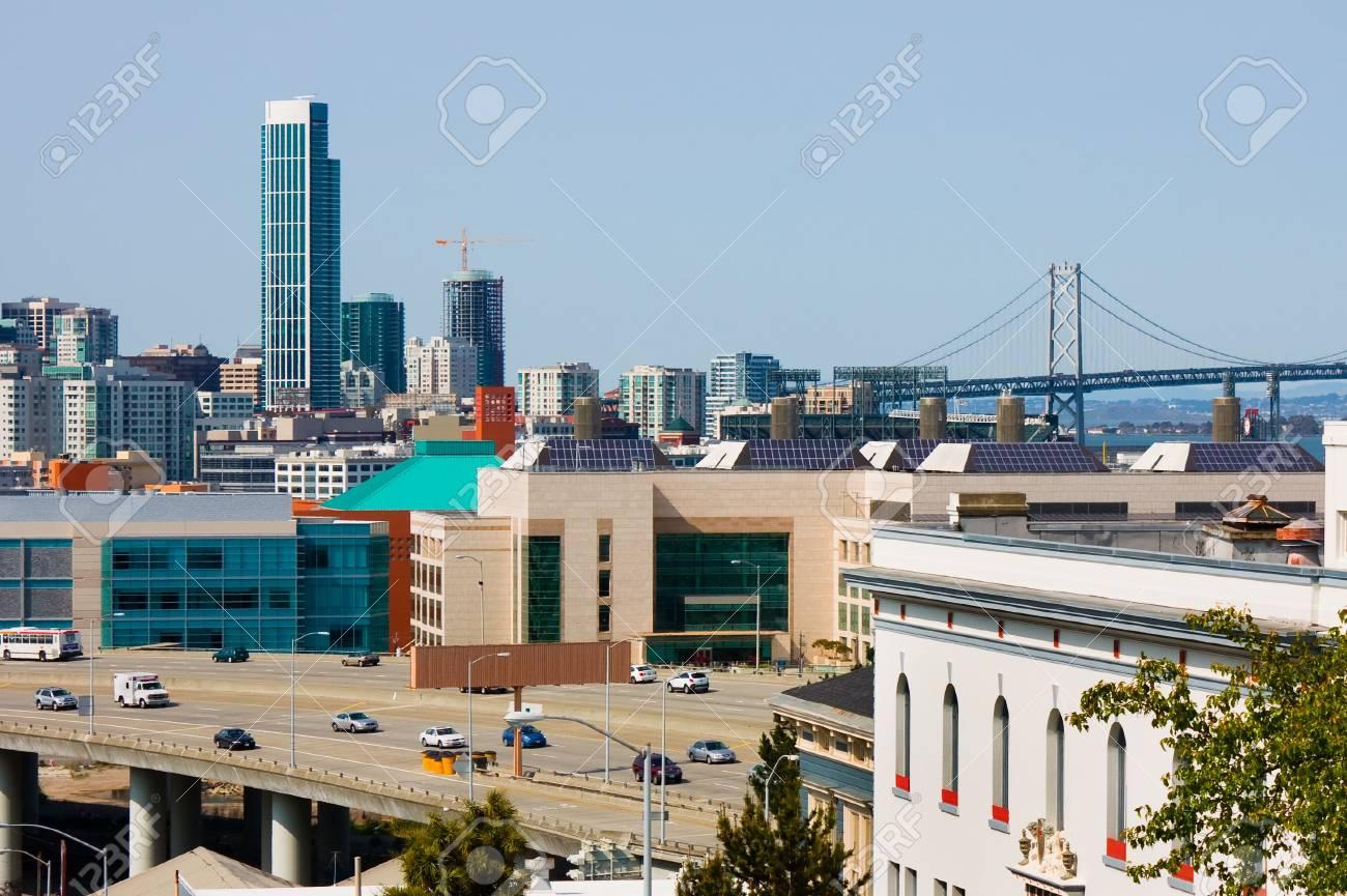 San Francisco and Bay Bridge Stock Photo - 6365723