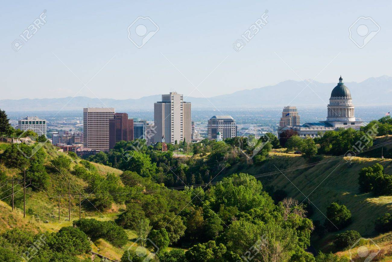 Salt Lake City, Utah Stock Photo - 11020355