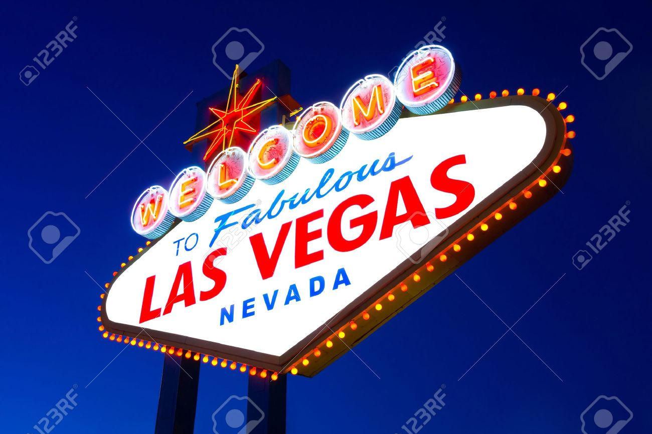 Welcome to Fabulous Las Vegas sign Stock Photo - 11957747