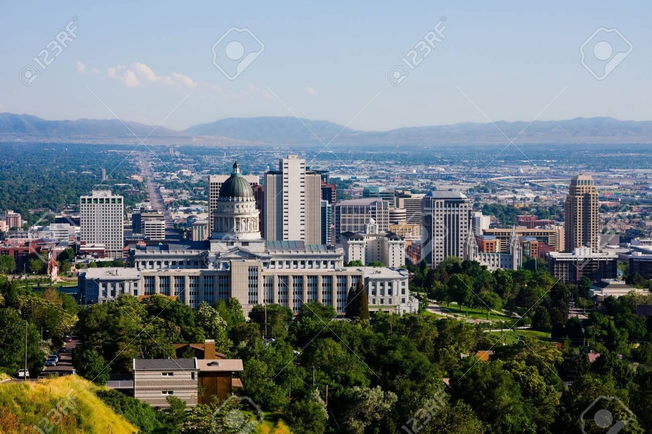 Salt Lake City, Utah - 12690254