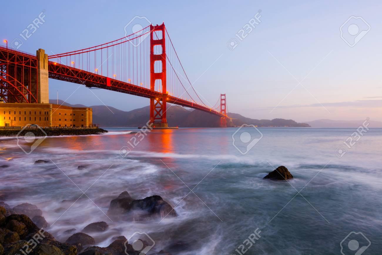 Golden Gate Bridge in San Francisco - 18968250