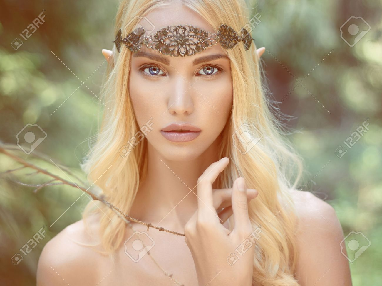 Female Elf Temptress | fantasie | Pinterest | Beautiful, Digital ...