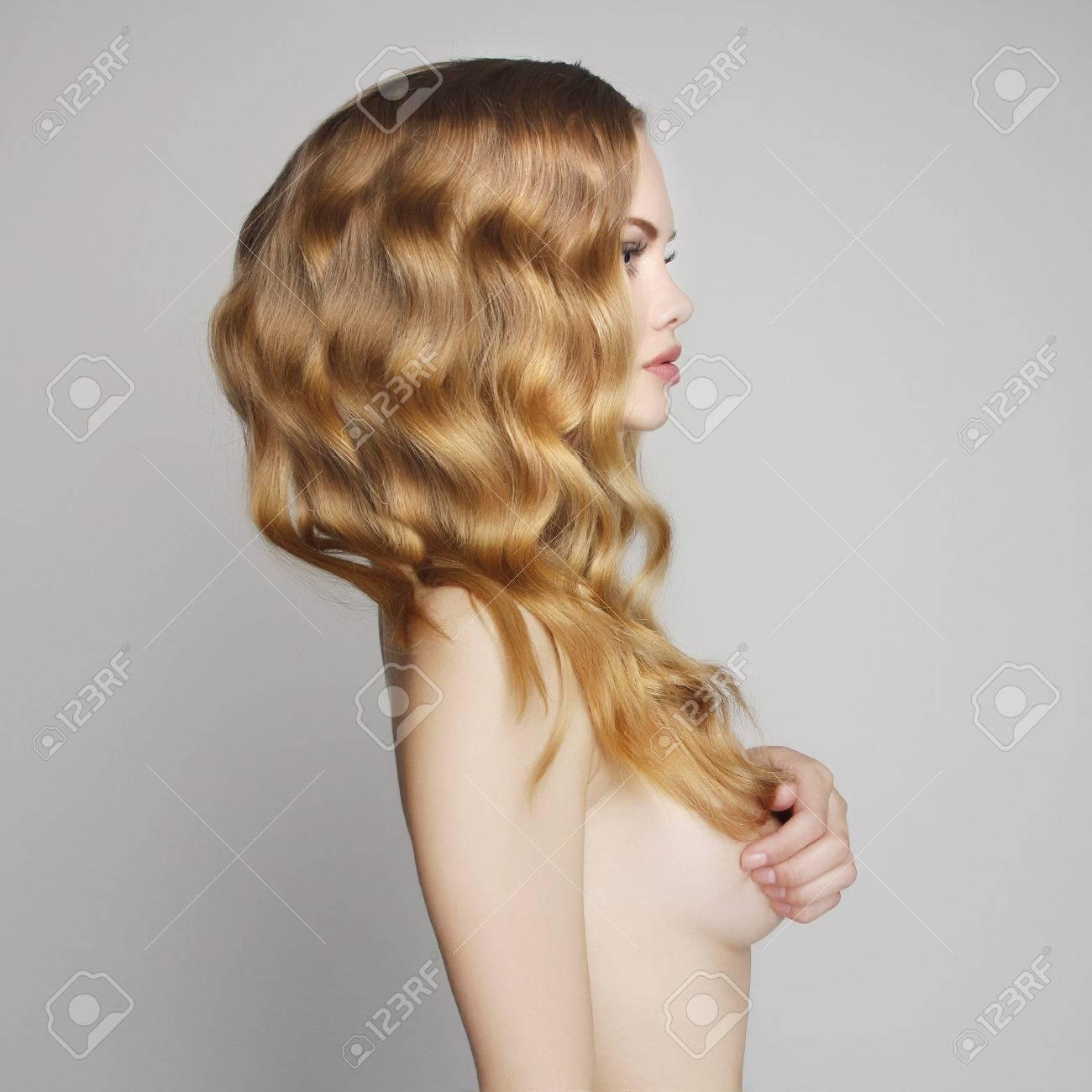 Sexy nute Mädchen