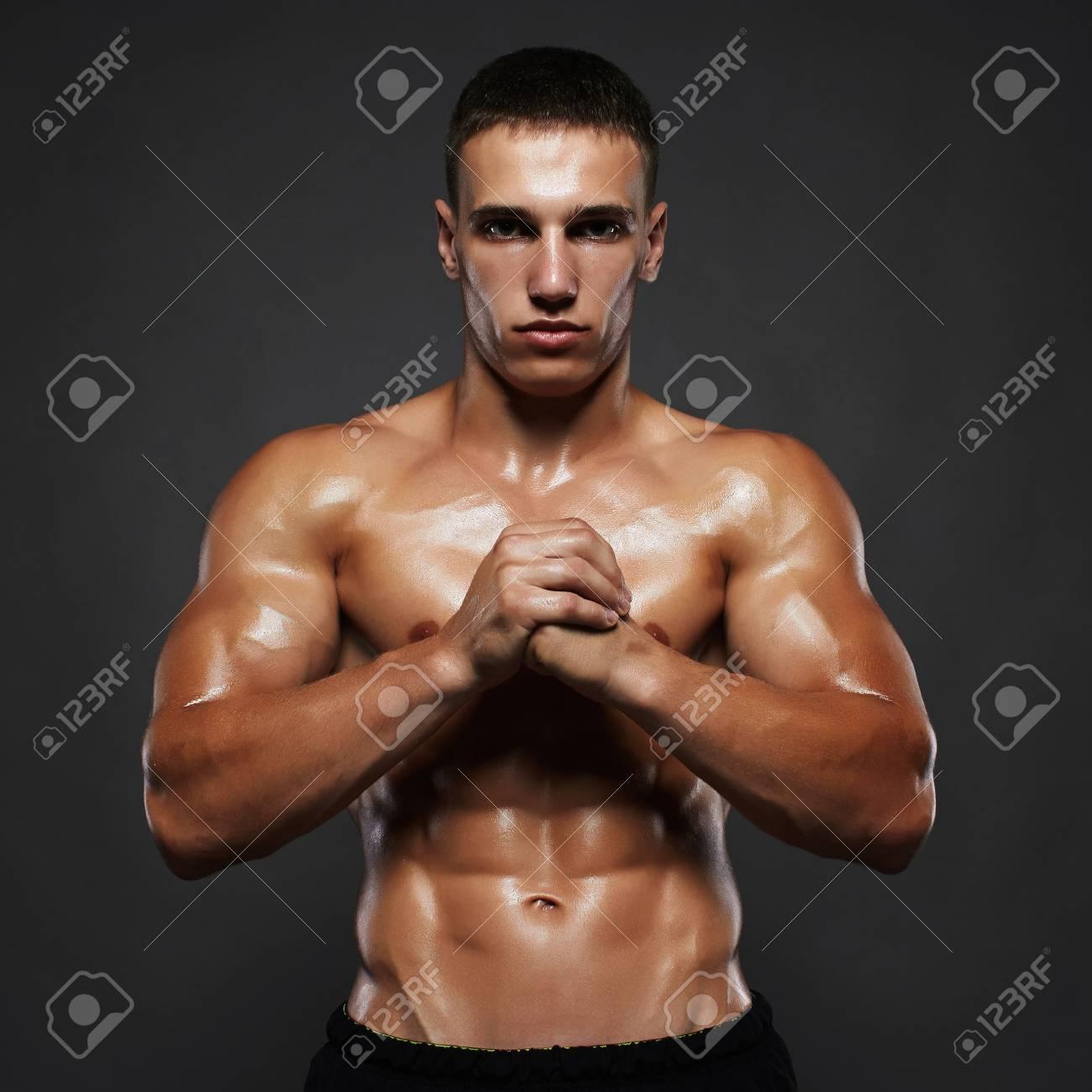 Handsome boy body