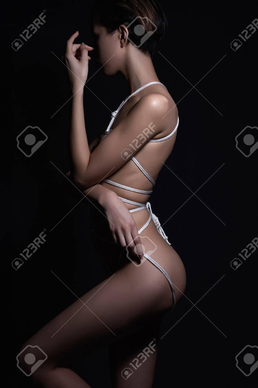 Bound beautiful nude women Beautiful Nude Body Girl Naked Sexy Bound Woman Adult Games Stock Photo Picture And Royalty Free Image Image 97361531