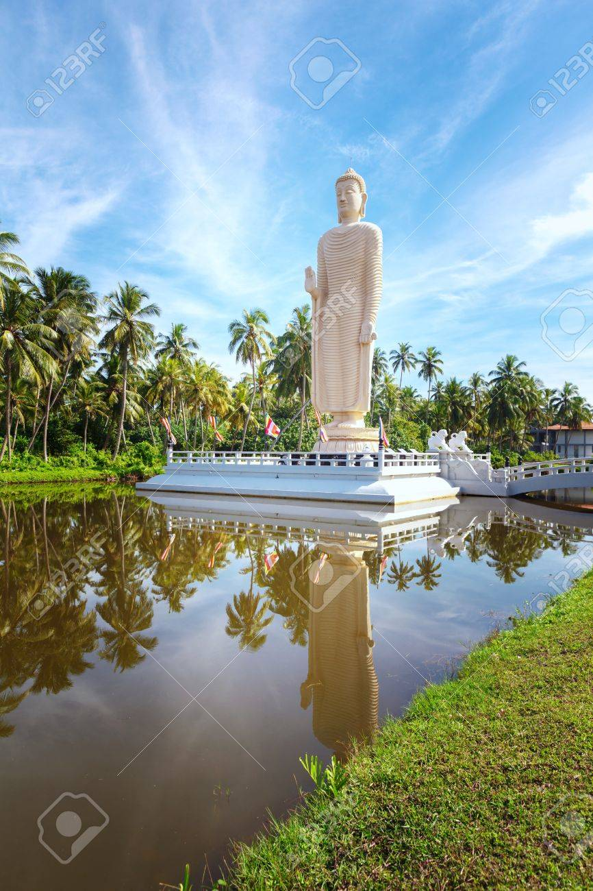 The Famous Tsunami Memorial Statue And Reflection, Located In ...