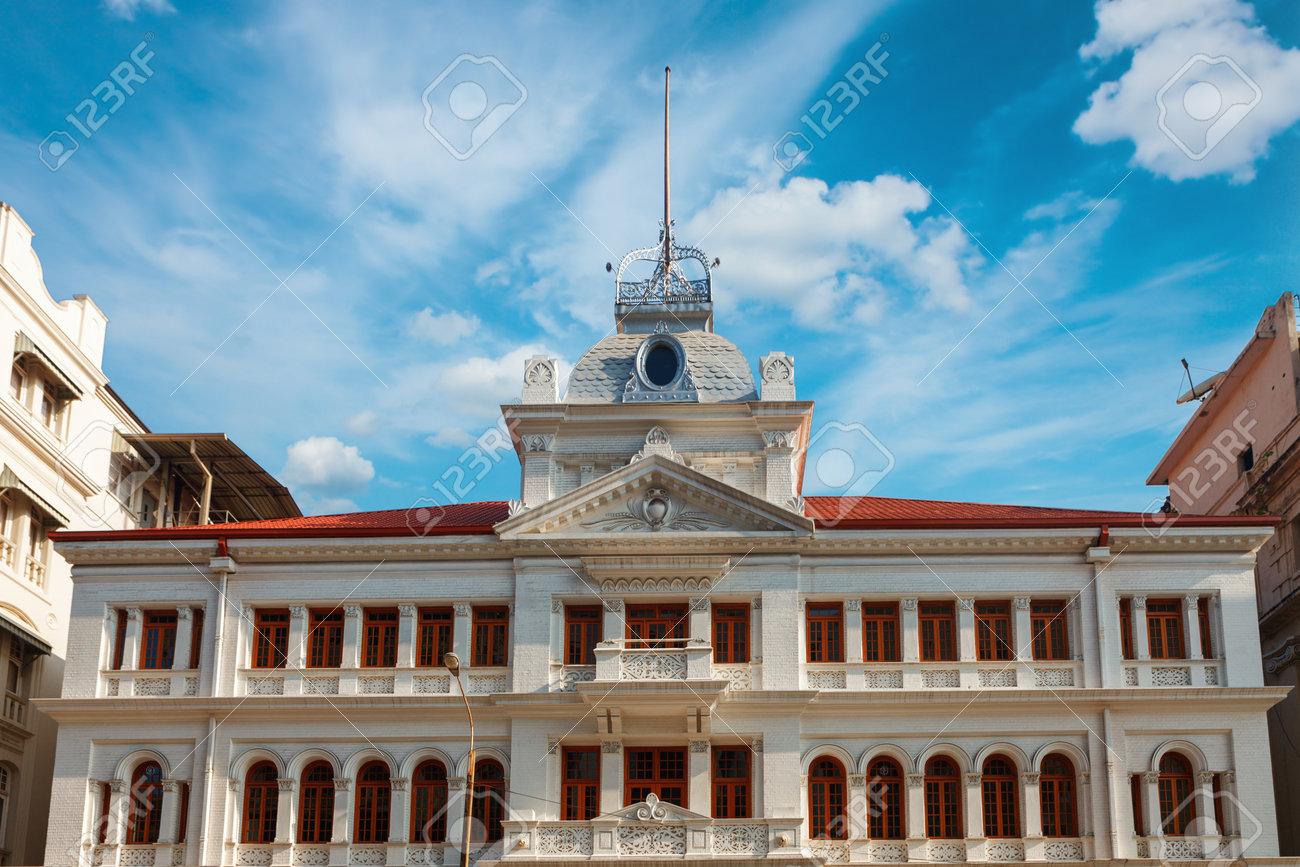 Colombo Sri Lanka 11 February 2017 Prince Street Of Dutch