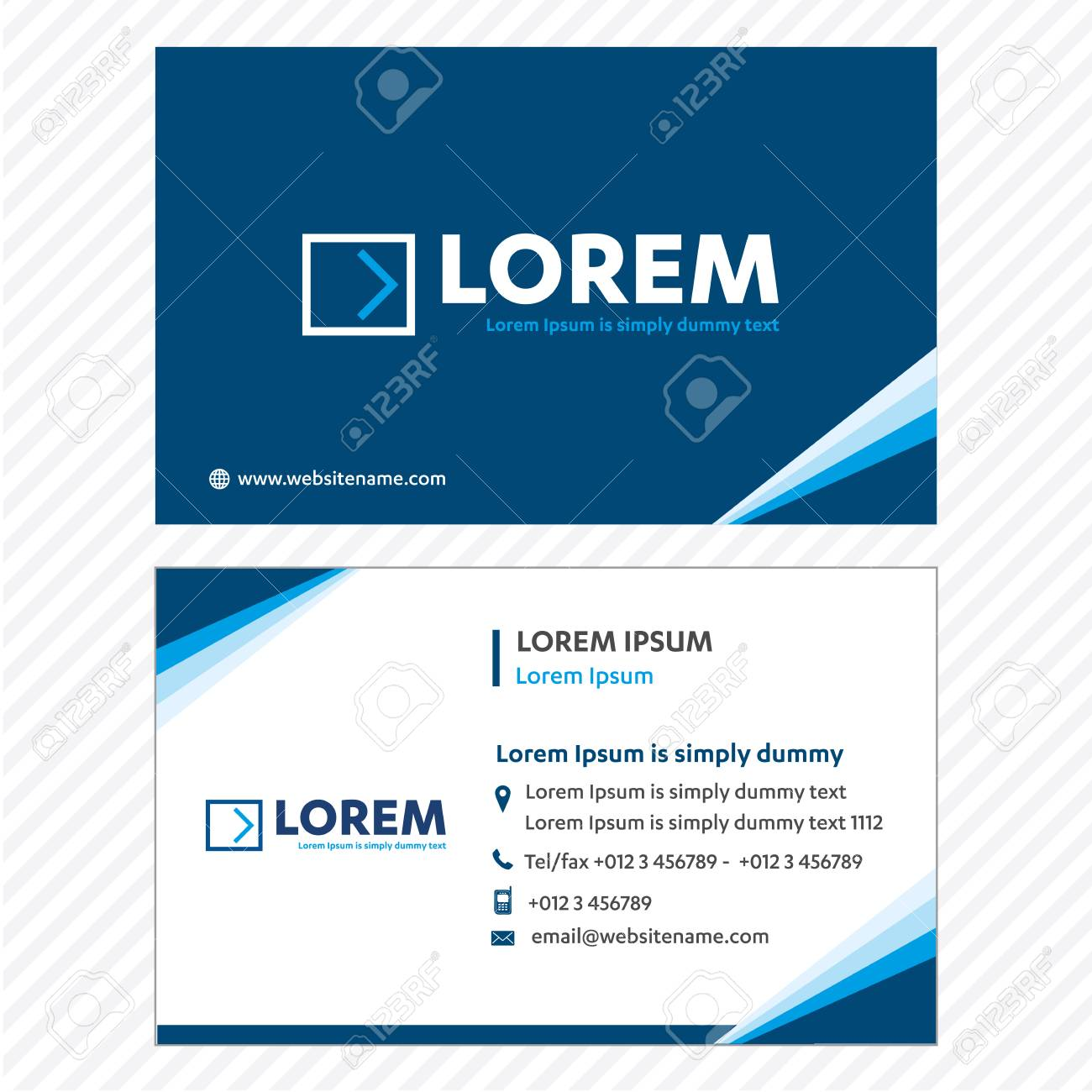 Business card vector template tech logo link network visiting business card vector template tech logo link network visiting card corporate identity stock vector colourmoves