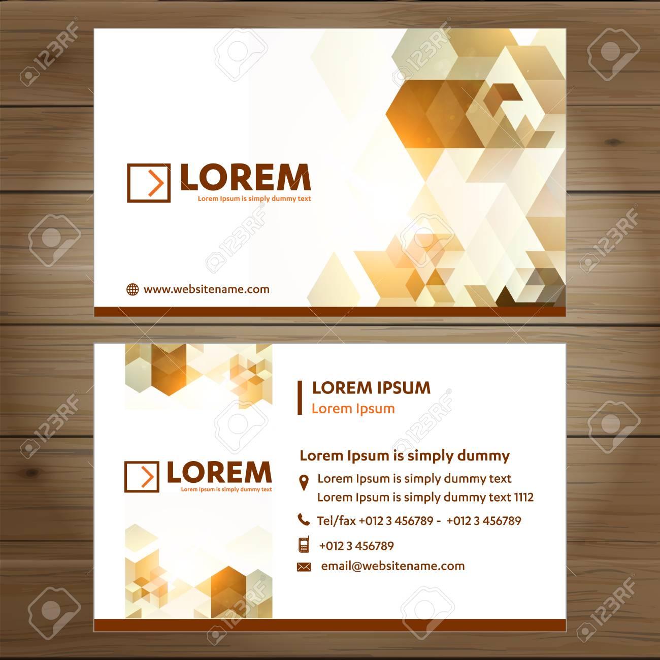 Business Card Vector Template, Tech Logo Link Network, Visiting ...