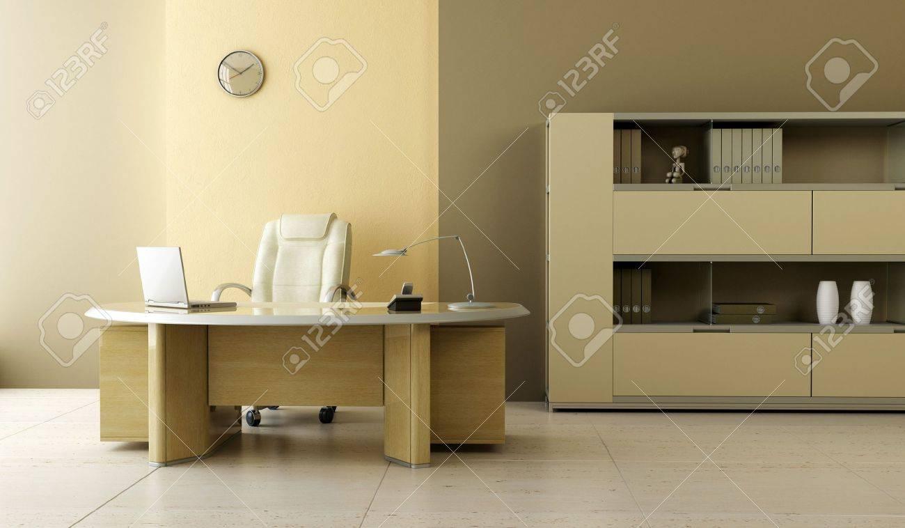 modern office interior 3d rendering Stock Photo - 3358749