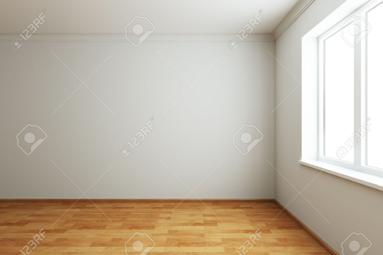 3d rendering the empty room with window Stock Photo - 7711153