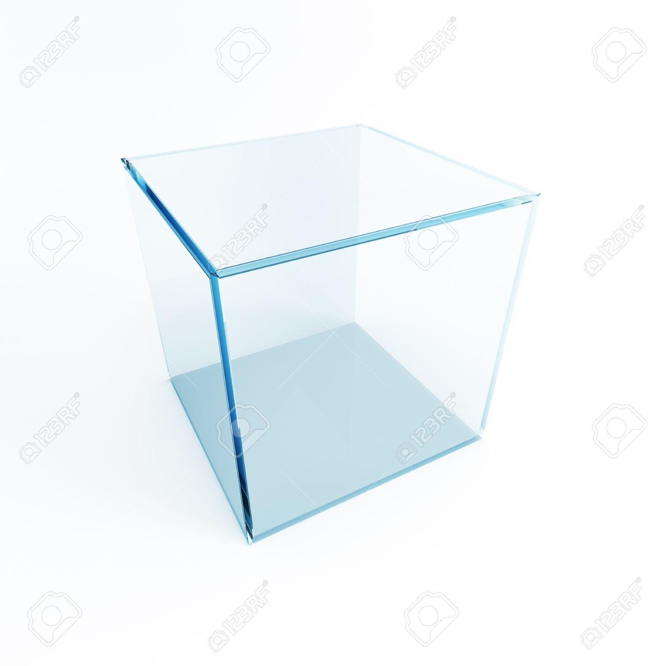 empty display box, 3d render Stock Photo - 12193606