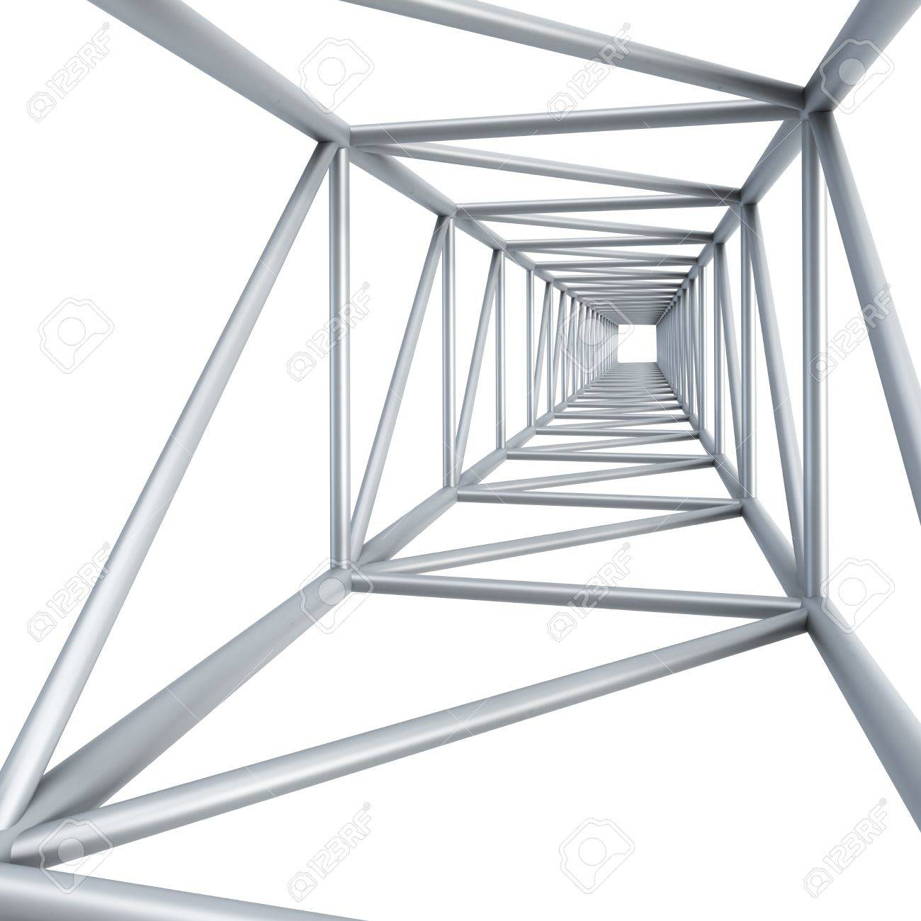 steel girder, isolated 3d render Stock Photo - 13765583