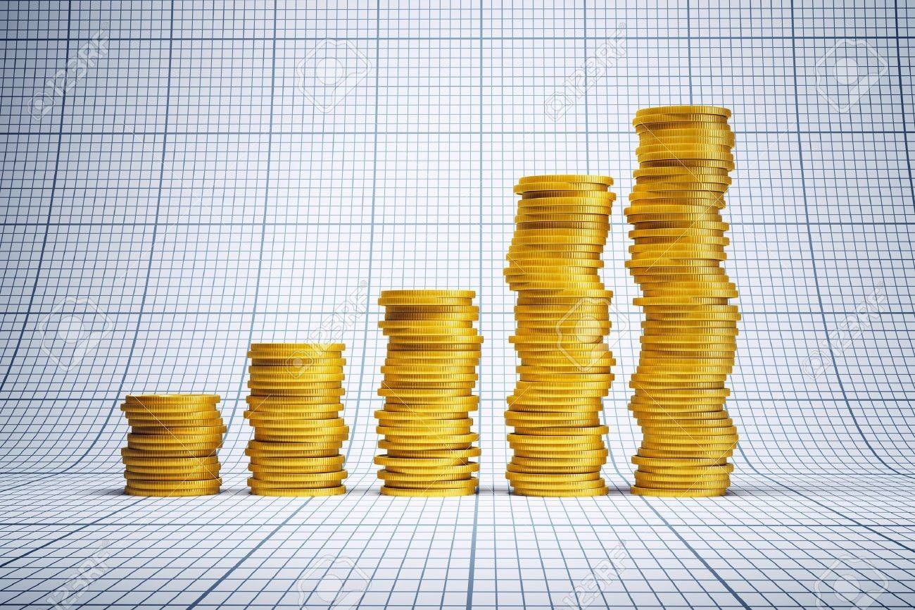 concept of successful investment, 3d rendering Stock Photo - 13765676
