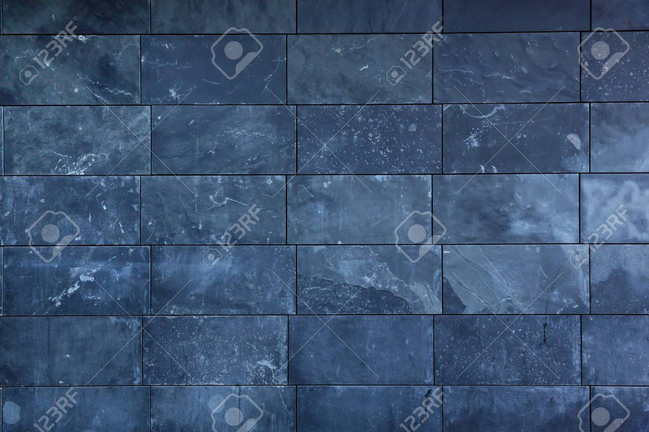 Dark Blue Stone Slabs Texture Stock Photo, Picture And Royalty Free ...