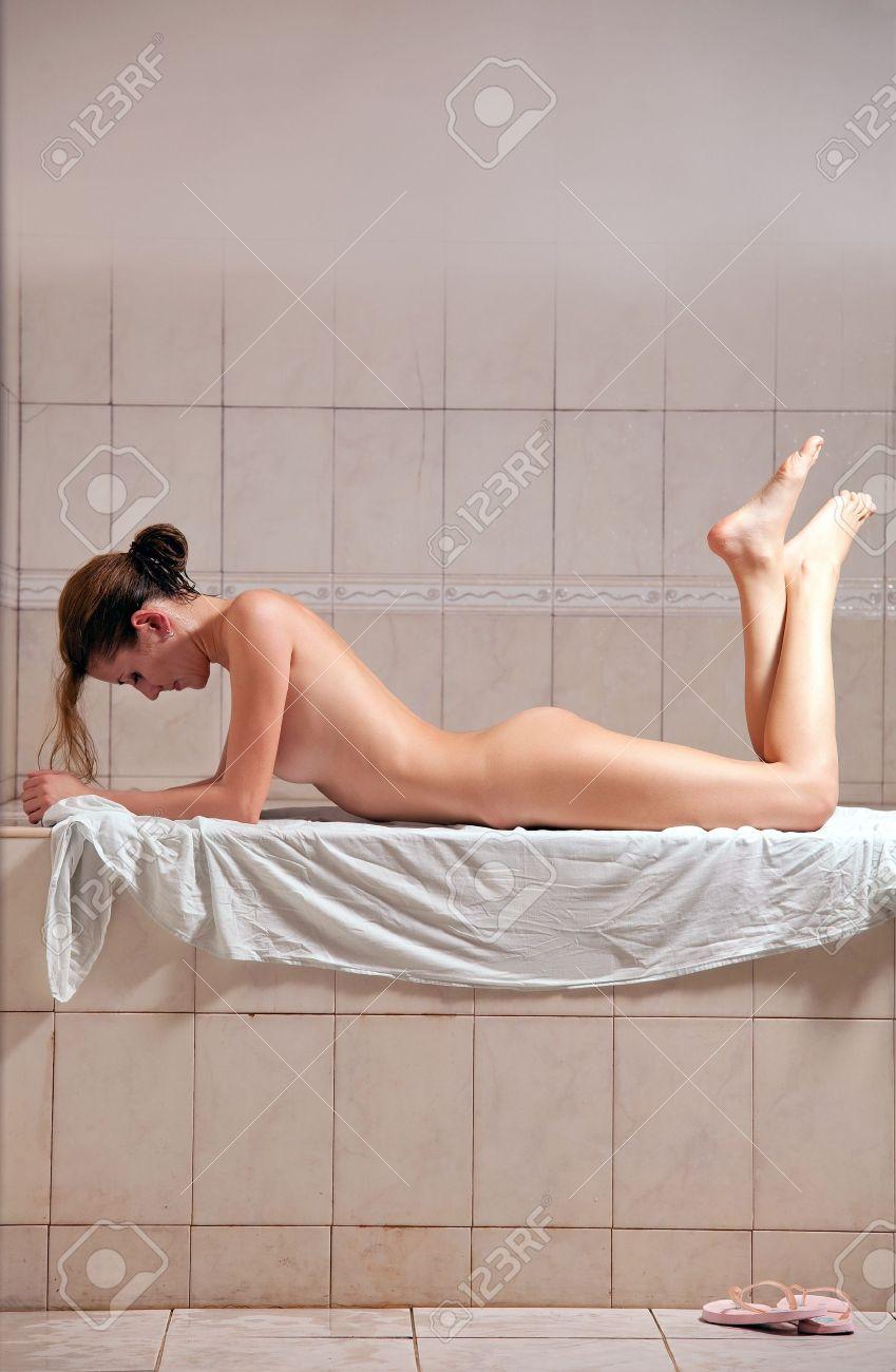 Baths naked girl turkish apologise